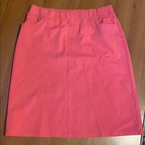 D&Co Coral A-Line Skirt